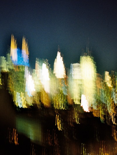 Skyscraper Blur / New York 2013