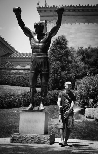 Rocky And Me / Philadelphia 2010