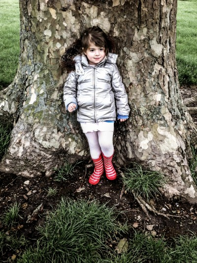 Girl in a Tree / Primrose Hill 2012