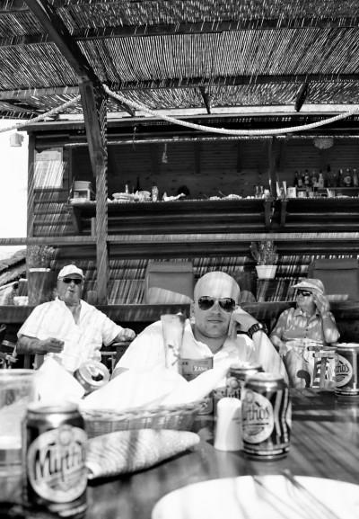 At the Beach Bar / Greece 2012