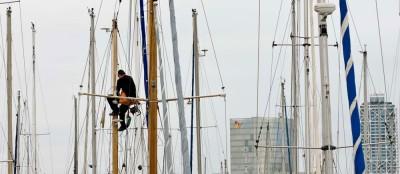 Boat Cleaner / Barcelona 2009