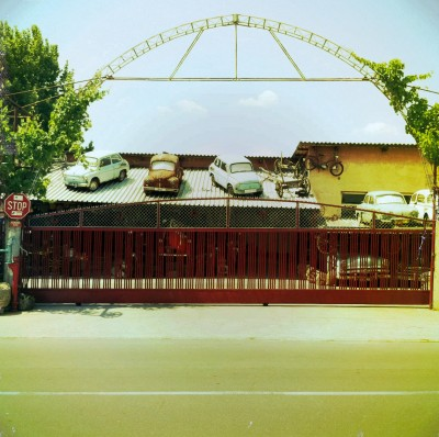 Cars on the Roof / Blagoevgrad region 2011