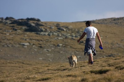 Drago and Sarah / Rila Mountain 2008