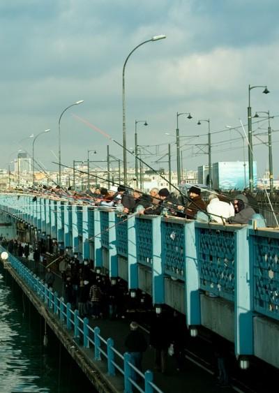Galata Fishermen / Istanbul 2009