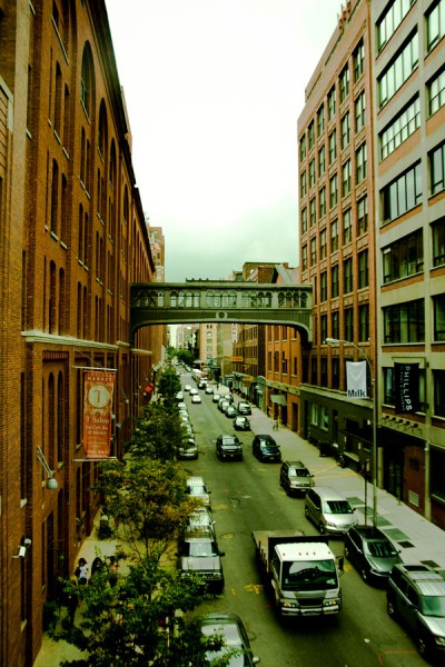 View From The Highline / New York 2010