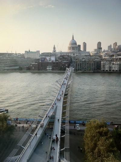 Millenium Bridge / London 2012