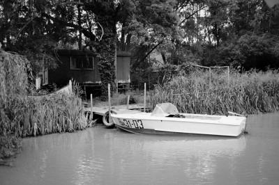 Parked Vehicle / Kamchiya River 2013