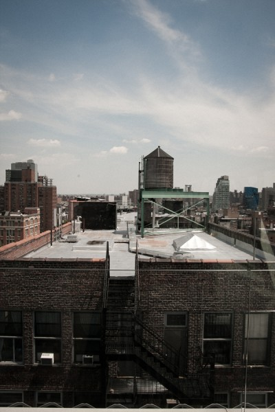 Rooftops off Bowery / New York 2010