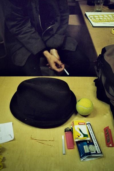 Still Life in a Studio / London 2012