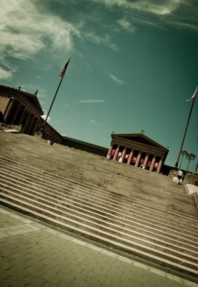 The Rocky Stairs / Philadelphia 2010