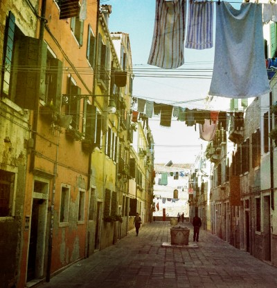 Lines of Clothes 2 / Venice 2012