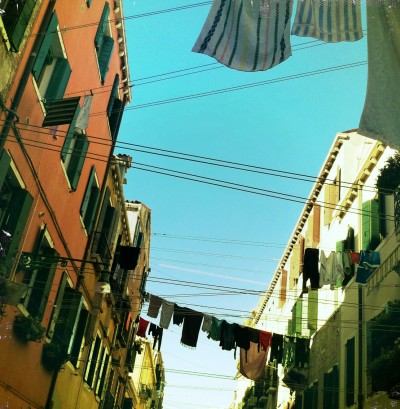Lines of Clothes / Venice 2012