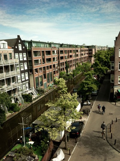 A View From Hotel Acacia / Amsterdam 2011
